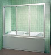 Раздвижные пластиковые шторки для ванн
