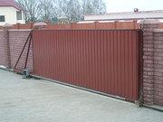 Раздвижные-откатные (консольные) ворота