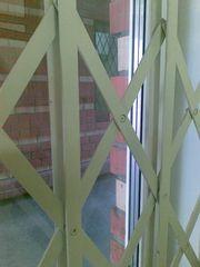Раздвижные решетчатые двери GRAN-эконом